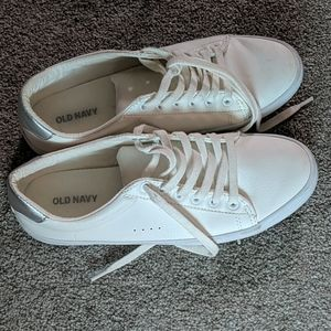 Women's white sneakers from Old Navy